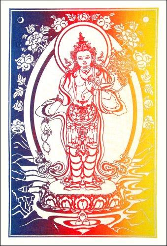 Standing Avalokiteshvara Cloth Print