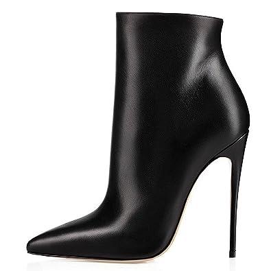 6d50a19cd19c17 elashe Women High Heel Boots
