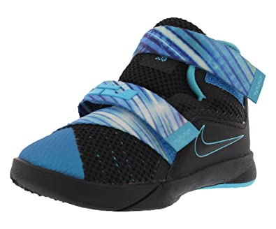 cheaper 5ed3f e7f50 Amazon.com | Nike Boys Lebron Soldier 9 Childs Toddler Shoes ...