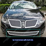 APS L76779T Chrome Grille Replacement for select Lincoln MKS Models