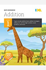 IXL | Grade 1 Addition Math Workbook | Fun Math Practice for Ages 6-7, 112 pgs (English, Spanish, French, Italian, German, Japanese, Russian, ... Gujarati, Bengali and Korean Edition) Paperback