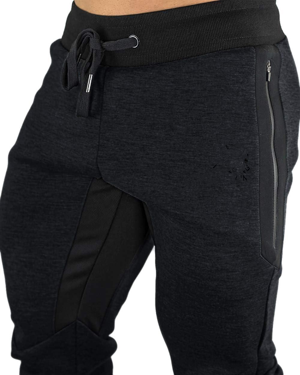 FASKUNOIE Mens Cotton Casual shorts 3//4 Jogger Capri Pants Breathable Below Knee Short Pants with Three Pockets