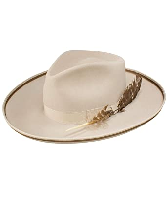 ce799f41c63b5 Stetson Men s Renegade Royal Deluxe Felt Hat Silver Belly 6 3 4 at ...