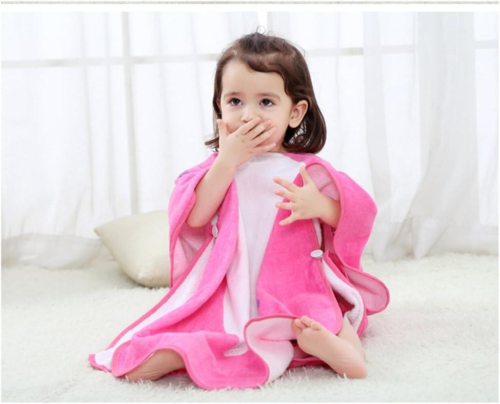 perfetto per bambini da 1 a 7 anni Diavolo leggero grigio. ele ELEOPTION Asciugamano poncho da spiaggia con cappuccio per bambini in microfibra di cotone