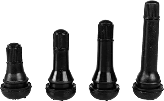 Nrpfell 25 Pz TR 413 Short Rubber Car Tubeless Vacuum Snap-in Valvole per Pneumatici Valvola in Lega