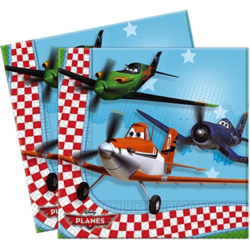 20 Disneys Planes Party Paper Napkins
