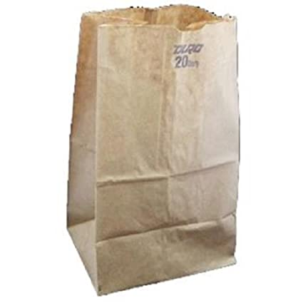 Producto Ofduro, # 20 lb marrón bolsa de papel, número 500 ...