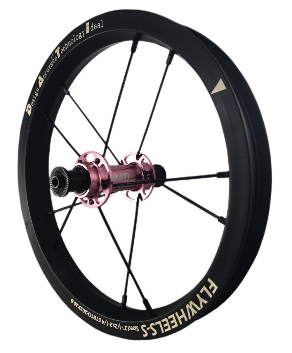 DATI 12インチ S6C-W Alloy バランスバイク Kids Balance Bike Bicycle Super light 子供自転車ホイール B07BLTQNDX 90x10MM for Bixbi Puky|ピンク ピンク 90x10MM for Bixbi Puky