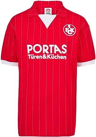 Camiseta de fútbol retro 1. FC Kaiserslautern 1983 local: Amazon.es: Deportes y aire libre