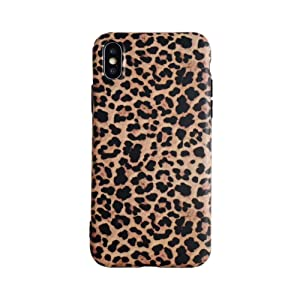 Leopard Case for iPhone 7 Plus 8 Plus Classic Luxury Fashion Protective Flexible Soft Rubber Gel Back Cover Shell Casing (Leopard Pattern, iPhone 7Plus/8Plus)
