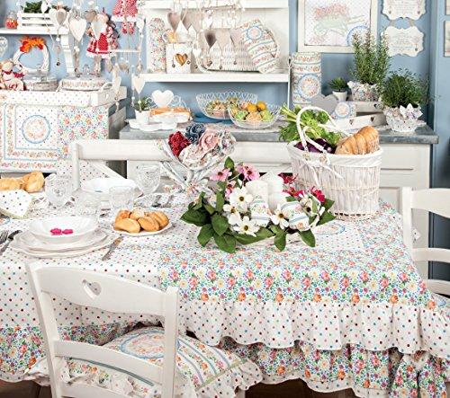 Mantovana angelica home country collezione fiori di for Angelica home e country tende