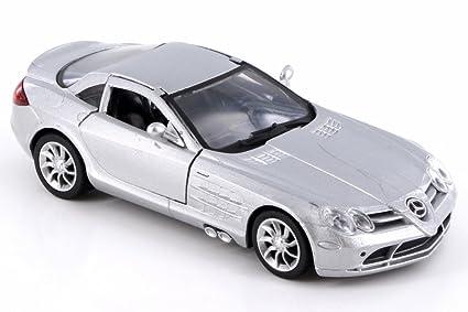 Mercedes Benz Slr Mclaren >> Amazon Com New Ray Mercedes Benz Slr Mclaren Silver Ss