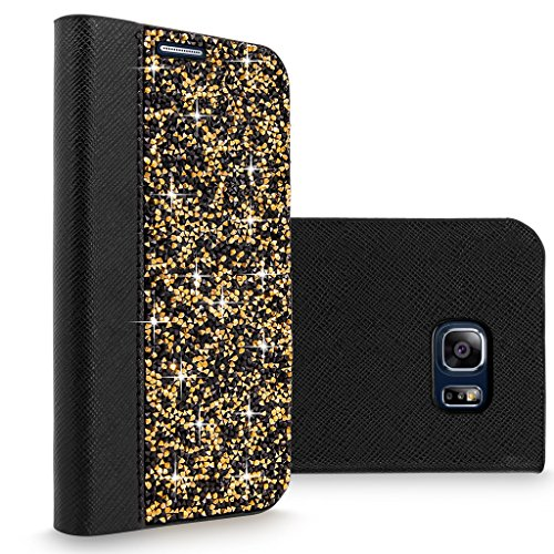 Cellularvilla Crystal Rhinestone Leather Protective