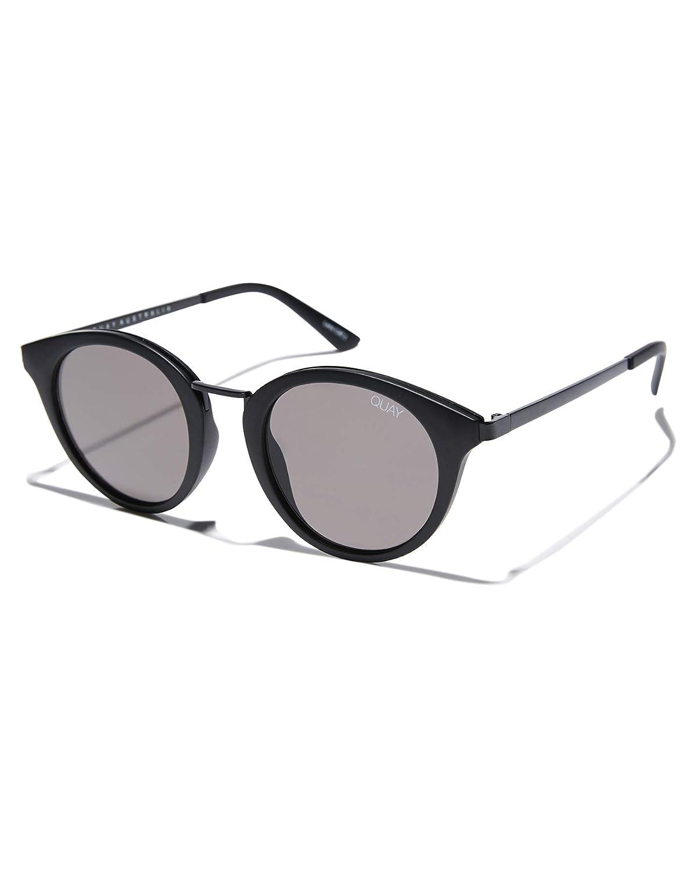 Quay Australia X Nabilla Gotta Run Sunglasses in Matte Black Frame, Black Smoke Lens, One Size