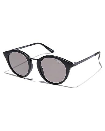 ec14eaf6afc5 Amazon.com: Quay Australia X Nabilla Gotta Run Sunglasses in Matte Black  Frame, Black Smoke Lens, One Size: Clothing