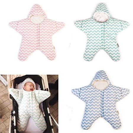 Amazon.com : EXIU Newborn Baby Girl Boy Autumn Winter Cotton Sleeping Bag Blanket 0-6 months : Baby
