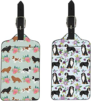 Canine Designs Set of 2 Dalmatian Luggage Tags