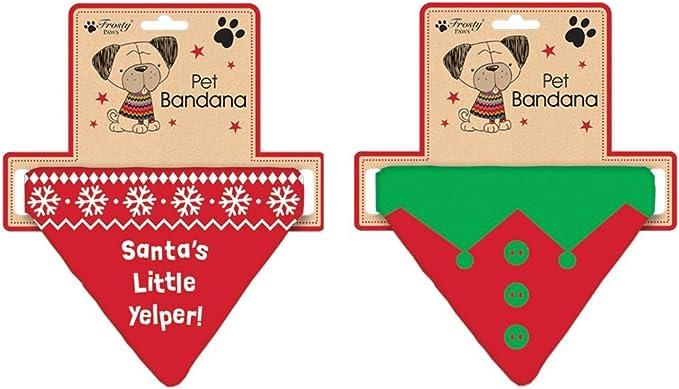 Christmas Dog Bandana!! The Elf Did It