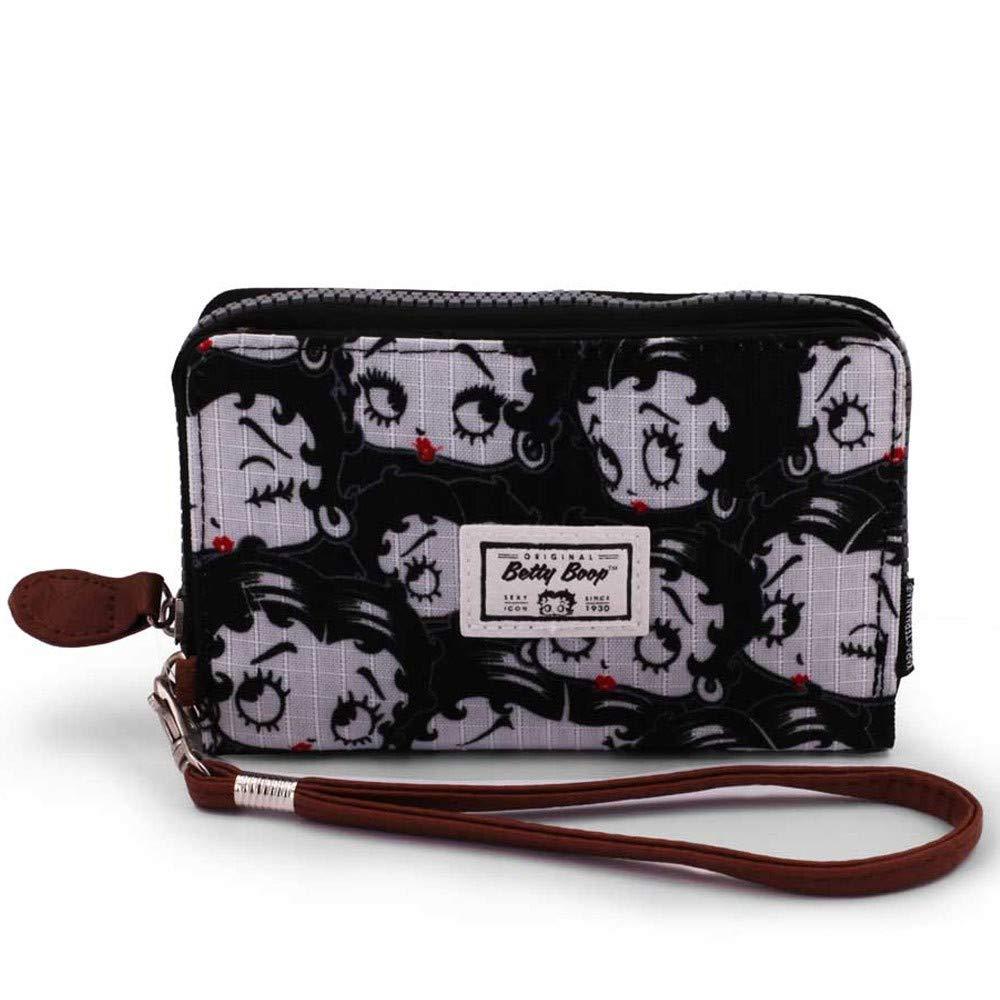 Karactermania 36554 Betty Boop Noir Monederos, 11 cm, Negro: Amazon.es: Equipaje
