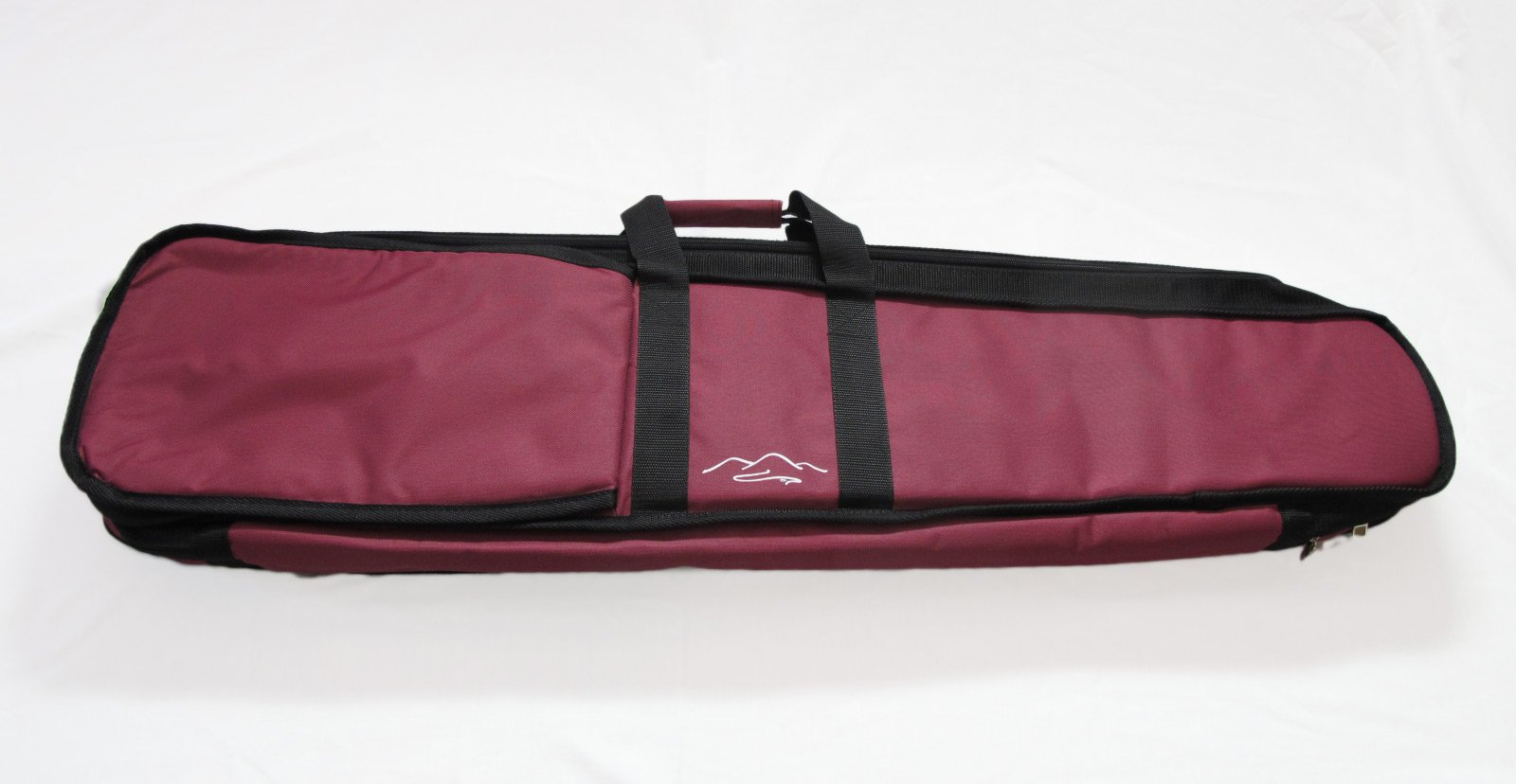 TK O'Brien's Mountain Dulcimer Carrying Case (Burgundy)