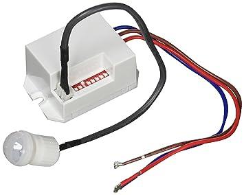 Detector de movimiento por infrarrojos empotrable mini