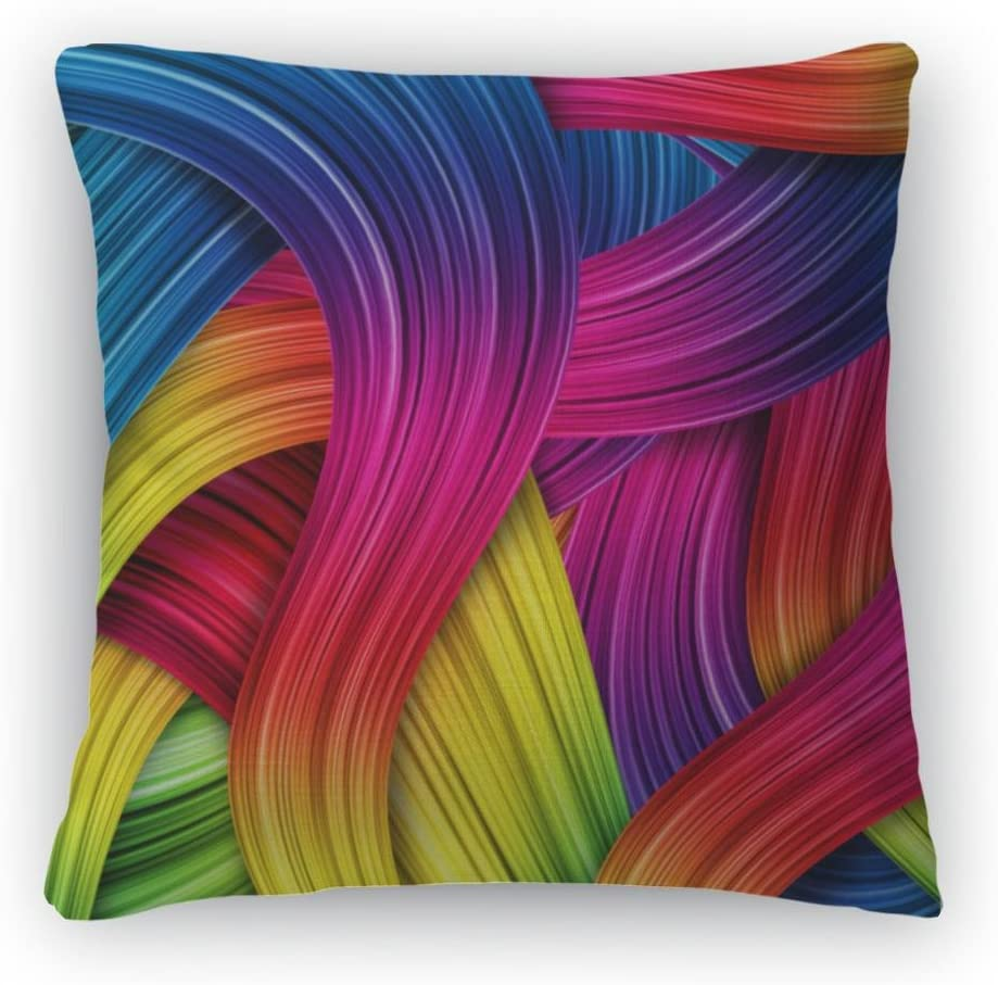 Gear New Colorful Throw Pillow, Poplin, 26×26, GN14226