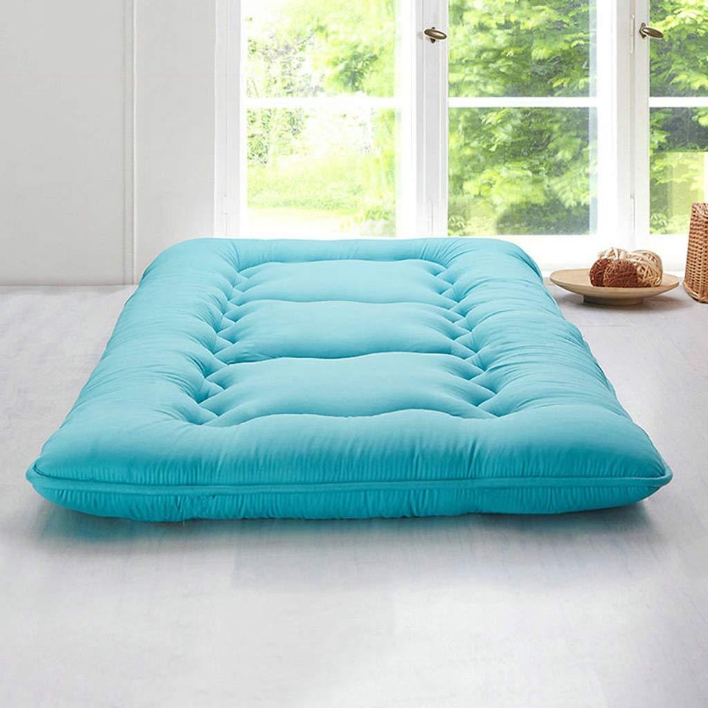 快適な折りたたみ式マットレス学生寮のマットレス 畳フロアマットダブル布団マットレスポータブルスリーピングパッド A+ (色 : ベージュ, サイズ さいず : 1.35X2M Bed) B07QPLD8H4 緑 1.2X2M Bed 1.2X2M Bed|緑