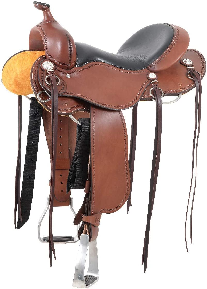 Most Comfortable Trail Saddle, Cashel