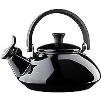 Le Creuset Czajnik na wodę, pojemność: 1,6 l, emaliowana stal / uchwyty fenolowe, Zen, czarny