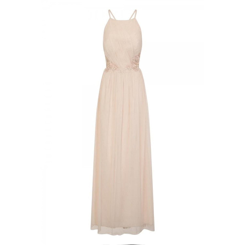 Little Mistress Womens/Ladies Niamh Applique Waist Strappy Maxi Dress: Amazon.co.uk: Clothing
