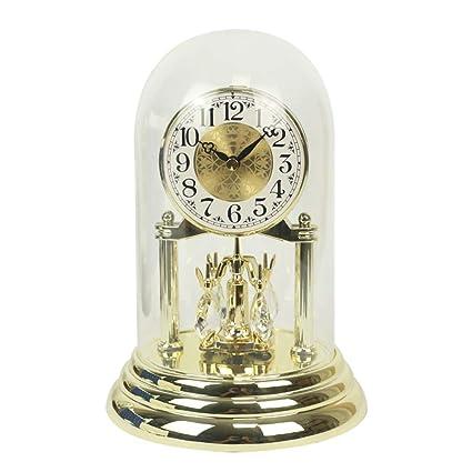 Relojes de mesa para la Sala de Estar Decoración Dormitorios Relojes de Escritorio Funciona con batería