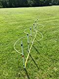 Weave Pole Guide Wires (Clip on) for Dog Agility