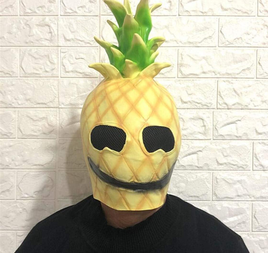 CAOCHENXI Fruta Piña Máscara Disfraz De Cosplay Máscara De ...