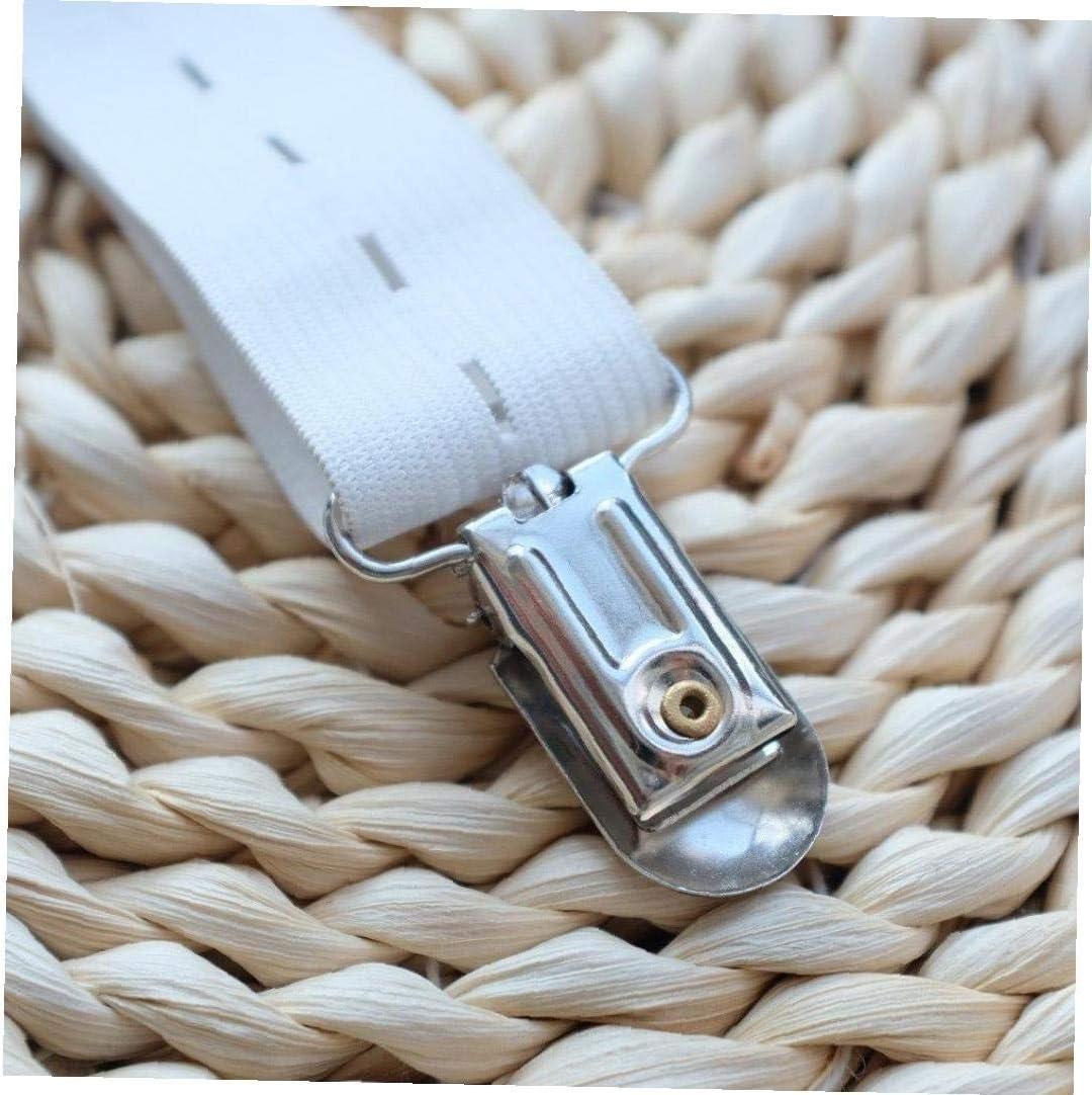 25 Pc Pacifier Straps Clips Metall Pacifier Clips F/ür Die Herstellung Der Pacifier Holders L/ätzchen Clips Spielzeug Halter Silber