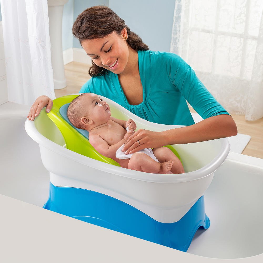 Amazon.com : Summer Infant Right Height Center Tub : Baby Bathing ...