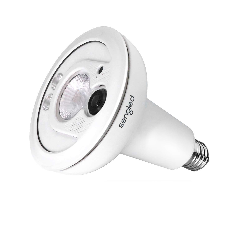 Sengled Smart Flood Light Camera Outdoor Security Camera System Wireless 1080p Color Night Vision Weatherproof Motion Activated, LED Light Bulb Camera PAR38 E26 Base 1 Pack by Sengled
