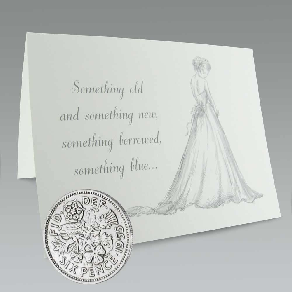 Sixpence Coin Bridal Gift Something old something new Something Blue Wedding Gift Wedding Tradition For the Bride Wedding Accessory