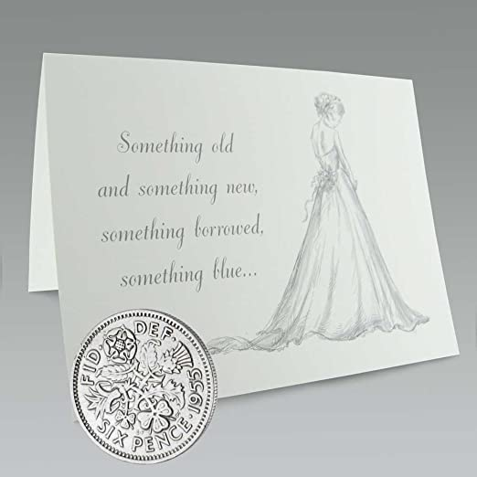 """/""""Something Old something New/"""" Buy it Now Wedding Sixpence 1 Coin"""