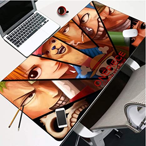ONE PIECE Luffy Large Anime Mouse Pad Desk Keyboard Mat Mouse Pad Mat