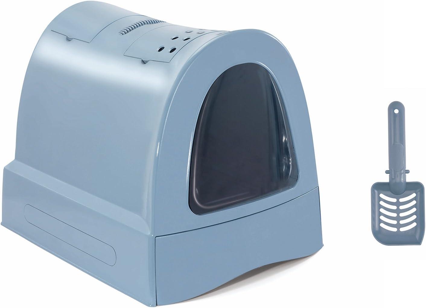IMAC WC Gatos ZUMA, 40x42.5x56cm, Azul, Gato