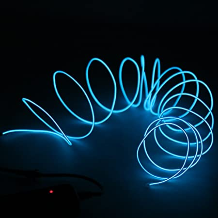 Sharplace Neon Beleuchtung Draht Lichtschlauch Leuchtschnur El Kabel ...