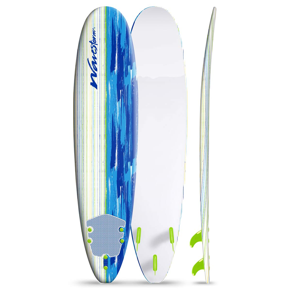 Wavestorm 8 Surfboard, Brushed Graphic