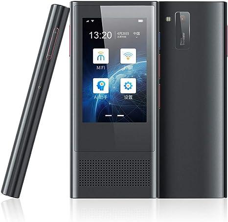 QKa Inteligente De Voz De Traducción Dispositivo Es Compatible con Tarjetas SIM WiFi Red / / 4G / Cámara/Grabación De Sonido Y 117 Idiomas De Dos Vías-Traducción para Viajes De Negocios: Amazon.es: