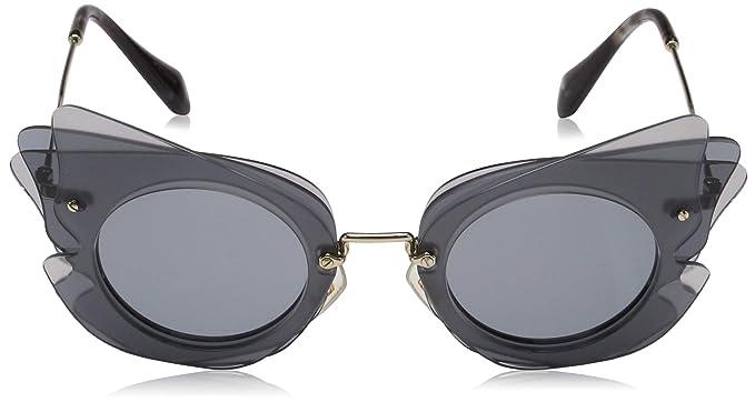 Amazon.com: Miu Miu mu02ss – va43 C2 Gafas de sol: Miu Miu ...