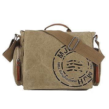 704bfa250939 Vintage Men s Messenger Bags Canvas Shoulder Bag Fashion Men Business  Laptop Camera Crossbody Bag Printing Travel