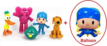 Amazon.com: Us Great Creations - Juego de figuras de Pocoyo ...
