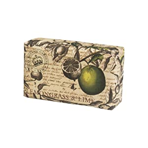 Royal Botanical Gardens, Kew Lemongrass & Lime Shea Butter Soap, 240g