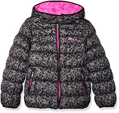 - PUMA Girls' Big Puffer Coat, Judo Grey, XL