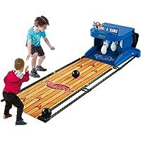 SanQing Electrónica Bolos Juego, Juego Familiar para 1-2 Jugadores, Juego de Bolos para niños y Adultos-electrónico de…