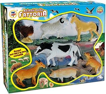 TEOREMA 72202 – Caja Animales Granja: Amazon.es: Juguetes y juegos